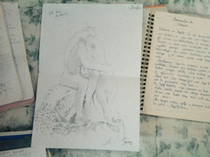 My beloved Rodin, sketch