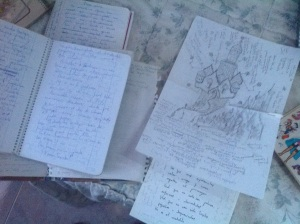 Sketches writings