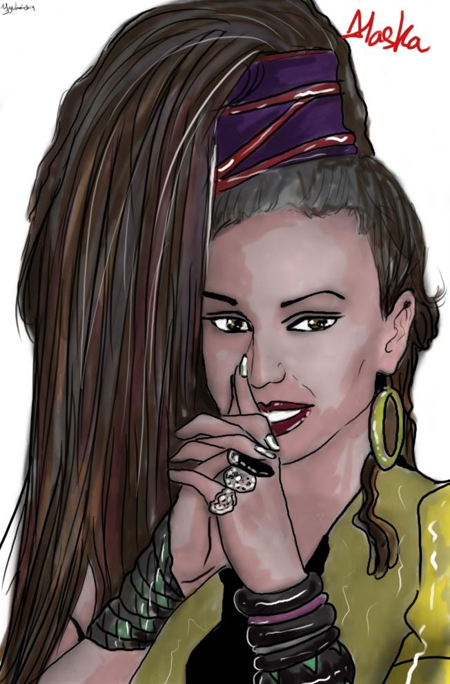 Retrato por Yrene Yuhmi