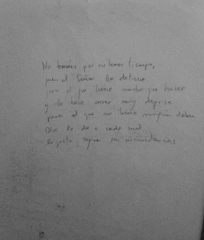 Vieja nota de Yrene Yuhmi