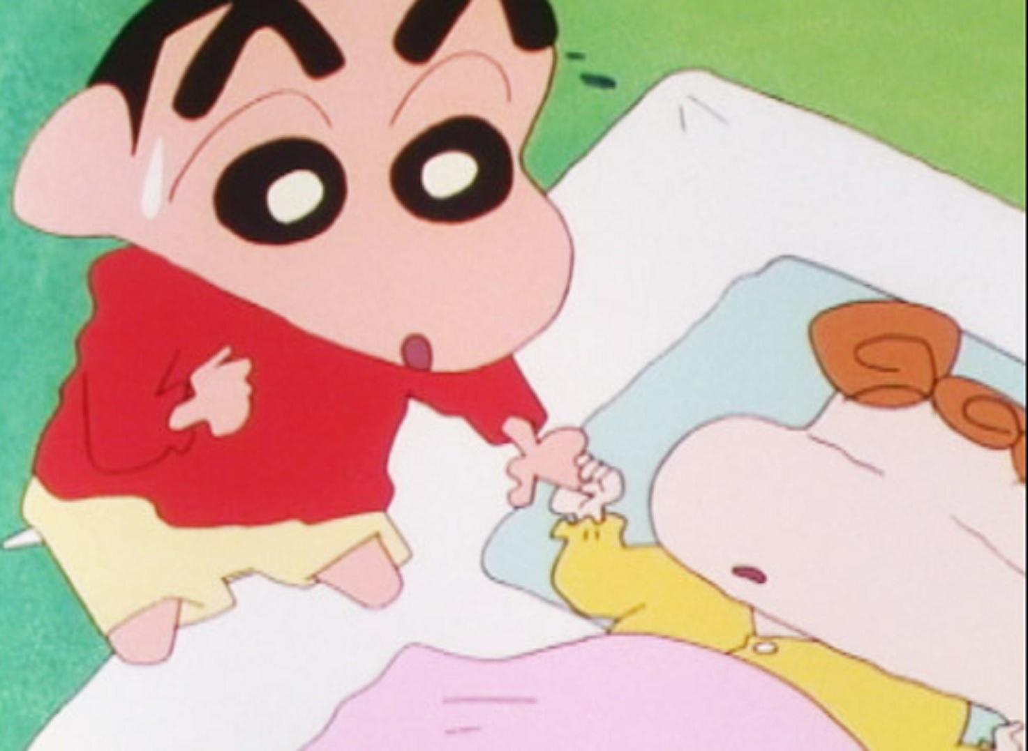 shin chan y himawari